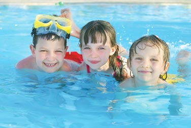 Use of our indoor, heated pool